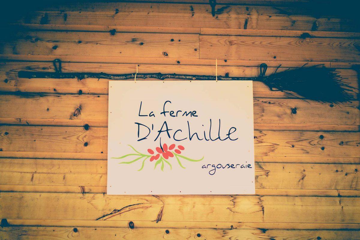La Ferme d'Achille, Saint-Ubalde
